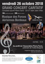 grand concert caritatif musique forces aeriennes bordeaux bergonie asso pierre favre