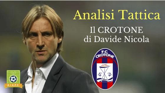 Analisi Tattica: Il Crotone di Davide Nicola