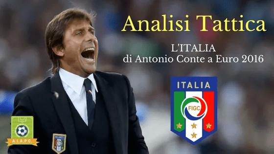 Analisi Tattica: l'Italia di Antonio Conte a Euro 2016