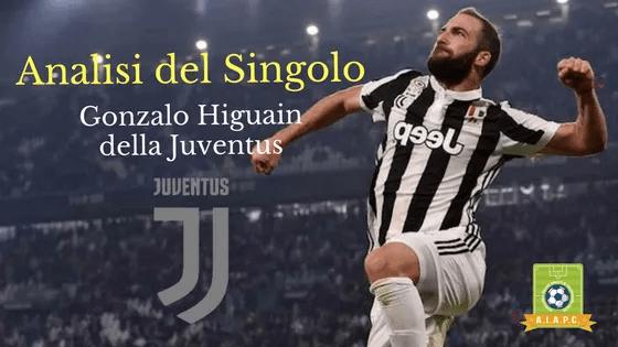 Analisi del Singolo: Gonzalo Higuain della Juventus