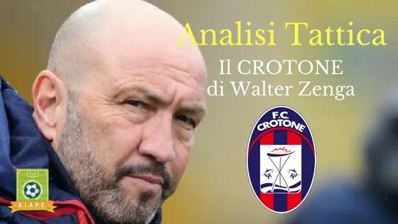 Analisi Tattica: il Crotone di Walter Zenga