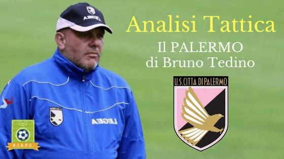 Analisi Tattica: il Palermo di Bruno Tedino