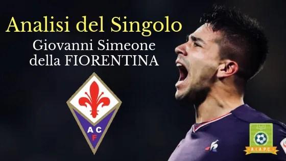Analisi del Singolo: Giovanni Simeone della Fiorentina