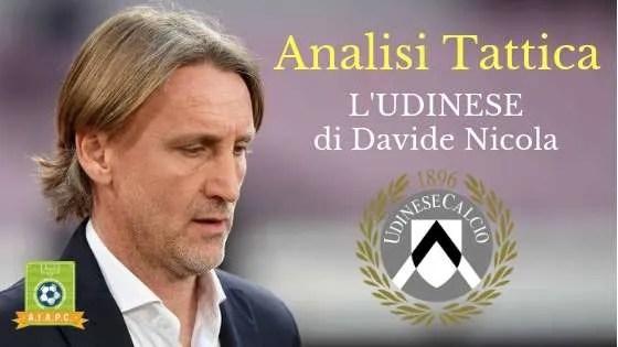 Analisi Tattica: l'Udinese di Davide Nicola