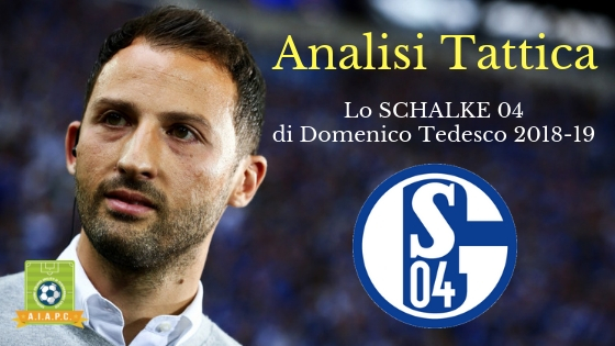 Analisi Tattica: lo Schalke 04 di Domenico Tedesco 2018-19