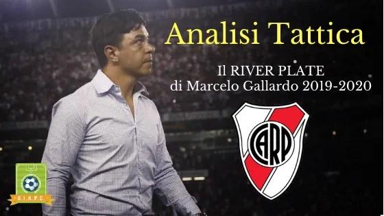 Analisi Tattica: il River Plate di Marcelo Gallardo 2019-2020