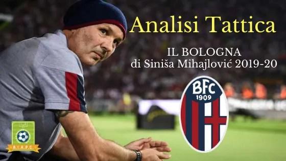 Analisi Tattica: il Bologna di Siniša Mihajlović 2019-20