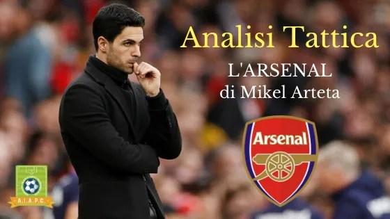 Analisi Tattica: l'Arsenal di Mikel Arteta
