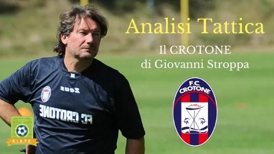 Analisi Tattica: il Crotone di Giovanni Stroppa