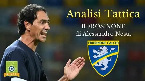 Analisi Tattica: il Frosinone di Alessandro Nesta
