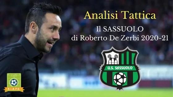 Analisi Tattica: il Sassuolo di Roberto De Zerbi 2020-21