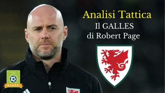 Analisi Tattica: il Galles di Robert Page