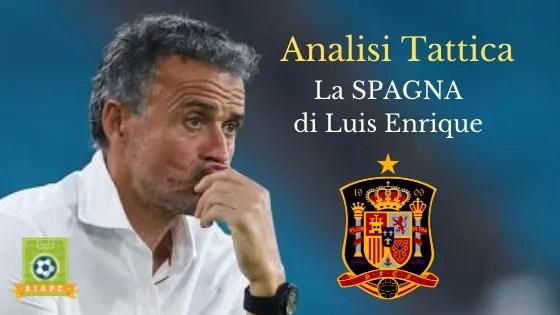 Analisi Tattica: la Spagna di Luis Enrique