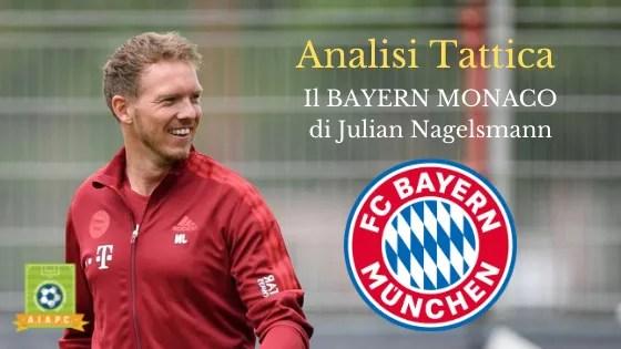 Analisi Tattica: il Bayern Monaco di Julian Nagelsmann