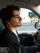 Arnaud était au volant jusqu'à Montélimar, pour le premier gouter.