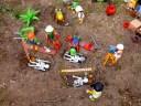 Diorama playmobil : la nécropole
