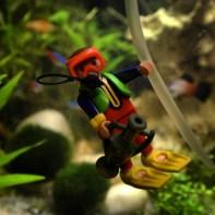 Diorama fouille subaquatique