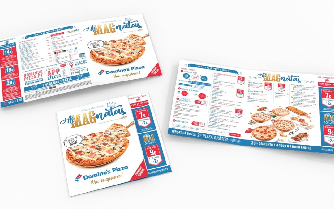 Domino's MAGnatas menu