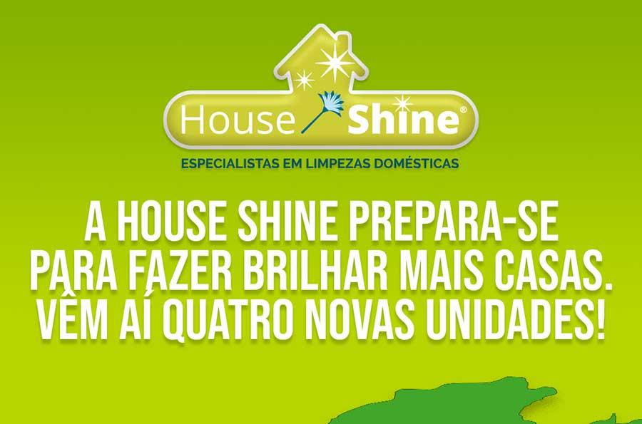 House Shine prepara-se para abrir quatro unidades