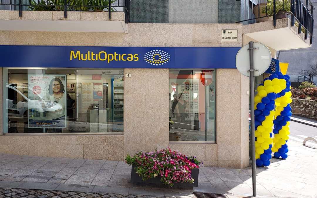 Franchising MultiOpticas inaugura nova loja em Melgaço
