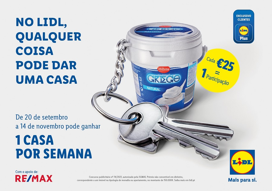Franchising RE/MAX une-se ao Lidl para lançar concurso