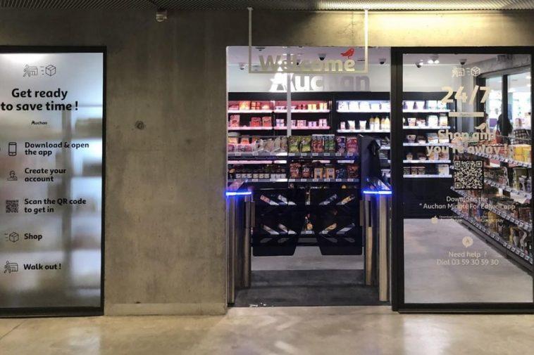 O Grupo Auchan lançou a insígnia Auchan Go na escola de negócios Edhec, no norte de França. O lançamento representa uma aposta em supermercados inteligentes.