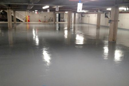 Parking Garage Concrete Repair and Surface Restoration
