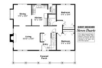 Bungalow House Plans - Alvarado 41-002 - Associated Designs