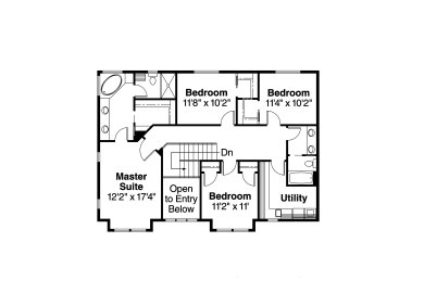 Small Full Bathroom Plan