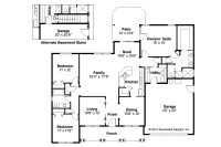 Craftsman House Plans - Adrian 30-511 - Associated Designs