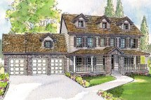 Dutch Colonial Homes House Plans