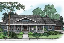 Single Story Country House Plans