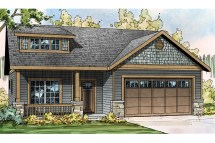 Craftsman Narrow House Plans