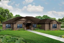 Craftsman House Plans Ranch Style Home