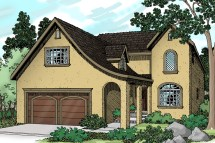 European House Plans - Mirabel 30-201 Design