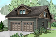 Craftsman House Plans with Garage