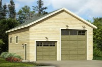 Traditional House Plans - RV Garage 20-093 - Associated ...