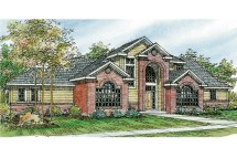 Traditional House Plans - Bloomsburg 30-667