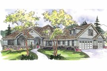 Traditional House Plans - Ramsbury 30-585 Design