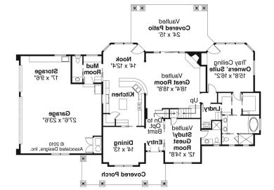 House Plans Single Story Country