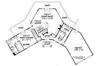 V shaped ranch house plans - House design plans
