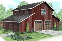 Country Barn House Plans