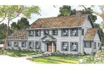 Colonial House Elevation Plans
