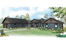 Country House Plans - Mountain View 10-558