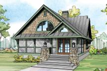 Craftsman Style Front Elevation House Plans