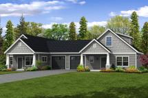 Cottage Duplex Floor Plans