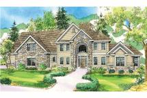 European House Plans - Charlottesville 30-650