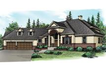 European House Plans - Vidalia 30-134 Design