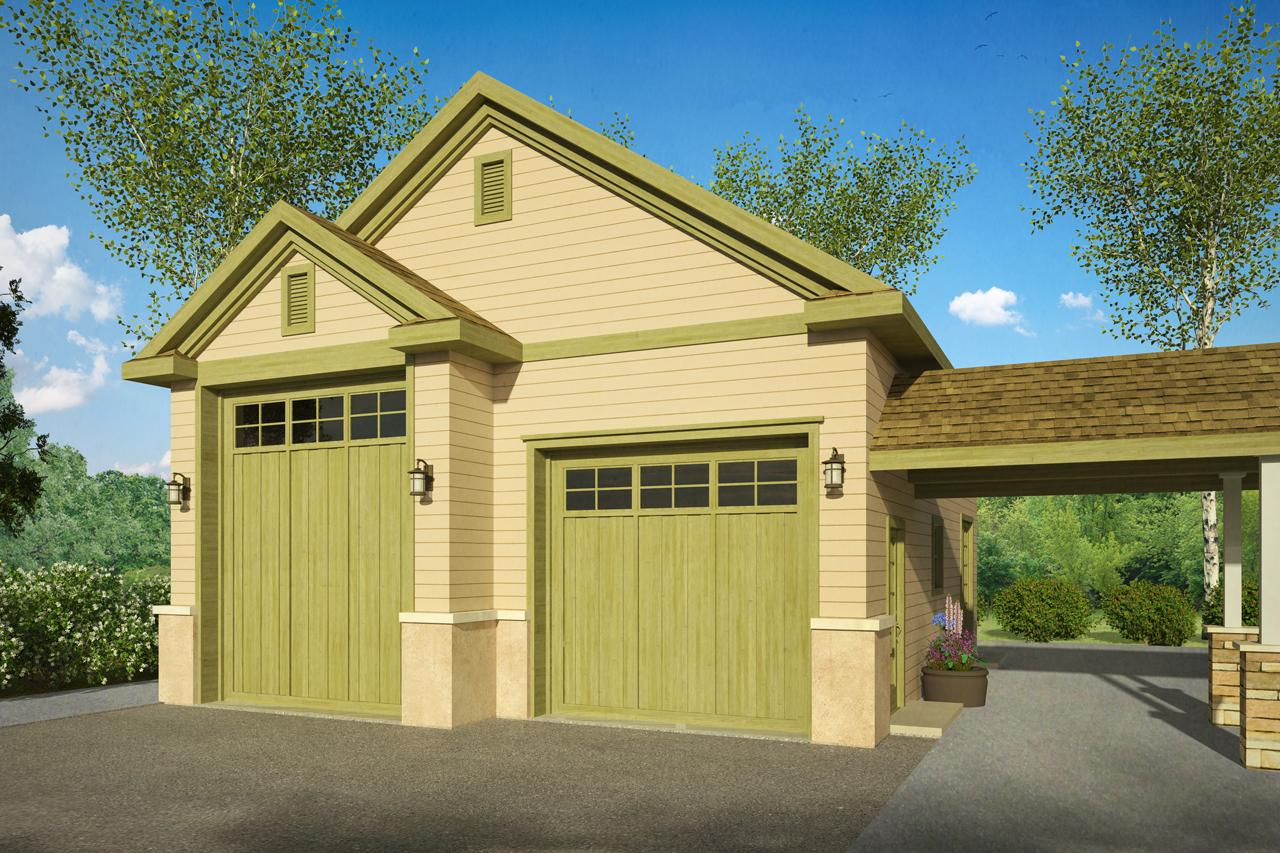 Country House Plans  RV Garage 20082  Associated Designs