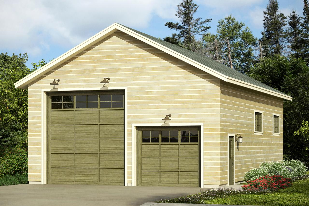 Traditional House Plans  RV Garage 20093  Associated Designs